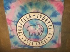 New Ivory Ella Exploded Tie Dyed High Quality Multicolored Beach Towel Nwt