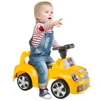Car Ride On Toy Baby Toddler Sounds Horn Toddlers Scoot Around Indoor No Motor