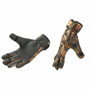 Fishing Gloves Full Finger Leather Waterproof Outdoor Sports Hunting Fish Glove