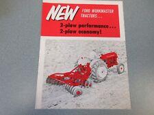 Ford Workmaster Farm Tractor Brochure 741 & 651                          lw