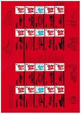Ls82 London 2012 Olympic Paralympic 2012 Generic Smilers Full Sheet