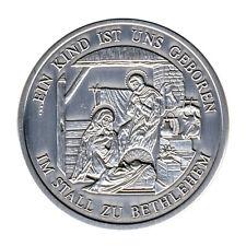CHRISTENTUM - Kind im STALL zu BETHLEHEM - SILBER - ANSCHAUEN (11595/1304N)