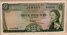 Jersey QEII 1963 1 pound P8a UNC