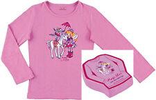 Die Spiegelburg Lillifee + Einhorn, Magic T-Shirt, Langarmshirt Gr. 104/116 rosa