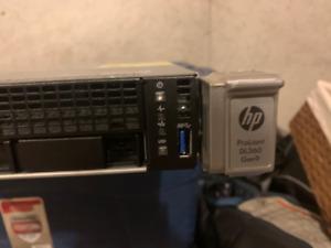 HP DL360 Gen9 128GB RAM 2x E5-2640