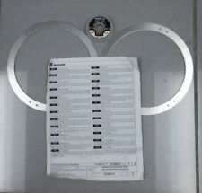 GM CHEVROLET CORVETTE STINGRAY FRONT BRAKE COOLING DEFLECTOR KIT OEM # 23184108
