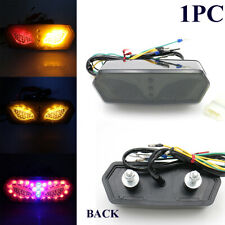 1PC 12V Brake Rear Taillight Kit LED License Plate Cornering Lamp Fit For MSX125