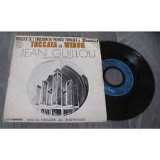 JEAN GUILLOU - Toccata De Widor Rare French PS 7' Indicatif Europe 1 Avant garde