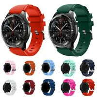 20/22MM Silikon Sportband für Samsung Galaxy Watch 46mm Gear S3 Armband