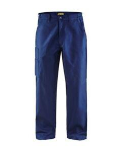 Blakläder Bundhose Arbeitshose 100% Baumwolle blau