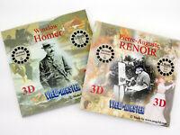 View-Master RENOIR & HOMER - 6 reels NEW - art paintings converted to 3d