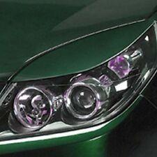 Scheinwerferblenden Böser Blick Opel Vectra C + Signum 05-08 extrem breit MATTIG