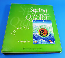 Spring Forest Qigong Level 1 - Health & Level 2 - Healing 10 CDs Chunyi Lin