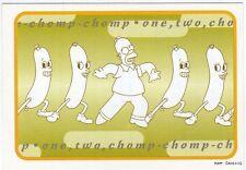 figurina THE SIMPSONS PANINI ANNO 1999 NUMERO 99 NEW