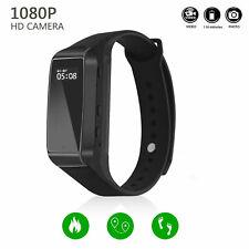 HD 1080p Spy DVR Hidden Camera Wearable Wrist Watch Video Recorder K68 w. 16GB