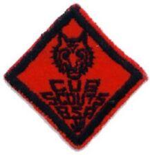 BSA rank advancement WOLF + red felt