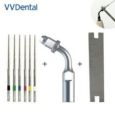Dental Endo Cleaning Tip Ed1 Multi Function Wrench 6pcs Niti Files Orthodontic