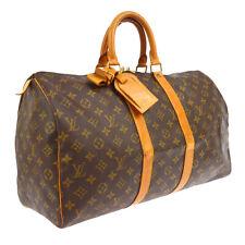 LOUIS VUITTON KEEPALL 45 TRAVEL HAND BAG PURSE SP0914 MONOGRAM M41428 BT16807b