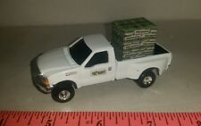 1/64 CUSTOM Ford f350 pro harvest TRUCK WITH pallet of seed corn bags ERTL