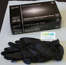 Nitrile Gloves, Black, Size Large, 20pcs, FREE Shipping