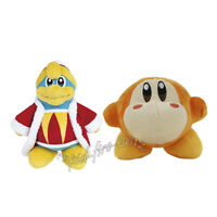 2pcs Kirby King DeDeDe & Waddle Dee Plush Doll Figure Stuffed Animal Toy Gift