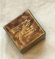 Antique Ring Box Circa 1920 Jewellery Box Scrim And Velvet Lining Old