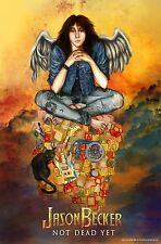SIGNED and THUMB PRINTED by Jason Becker ANGEL WINGS Poster (17 x 11 inches)