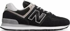 Scarpe sportive uomo New Balance ML574EGK Nero-grigio Suede-Mesh