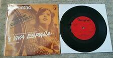 "Samantha - Y Viva Espana - UK 7"" Single"