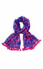 Lilly Pulitzer NWT Resort Scarf Pink Sunset Stan Still Eng Wrap $78 OBO!!