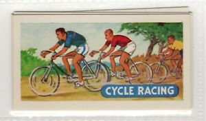 Sports and Games 1954. Cycling Racing