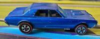 1967 Hot Wheels Redline Custom Cougar - Blue, HK, Unrestored
