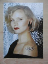 Renee Soutendijk Autogramm signed A4 Magazinbild