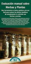Evaluación Manual Sobre Hierbas Y Plantas - Paq. De 5 - Versión En Español