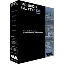 Wave Arts Power Suite 5 Mixing & Mastering Native Plug-in Bundle