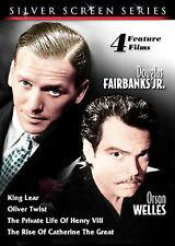 Silver Screen Series Vol.4 - 4 Films (DVD, 2008)Oliver Twist,King Lear--NEW--
