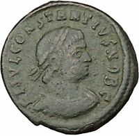 CONSTANTIUS II son of  Constantine the Great  Roman Coin Glory of  Army i39202