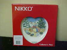 Nikko Christmastime Annual Collector's Plate 2006 Mib