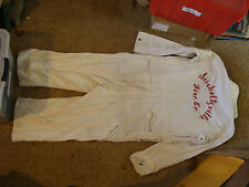 vintage clothes:Seisholtzville Fire Co. WHITE JUMPER, some wear