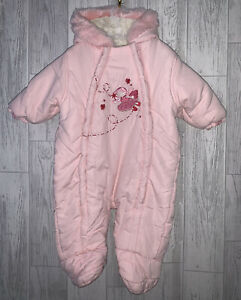 Girls Age 3-6 Months - Snowsuit From Ladybird
