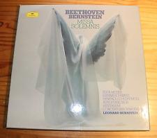 BEETHOVEN Missa Solemnis BERNSTEIN - LIVE  2-LP-Box DG