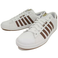 K-Swiss Hoke EQ CMF Sizes 6.5-10 White/Brown RRP £55 BNIB 03772