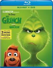 Dr Seuss' The Grinch (Bilingual) - Blu-ray + DVD (2018)