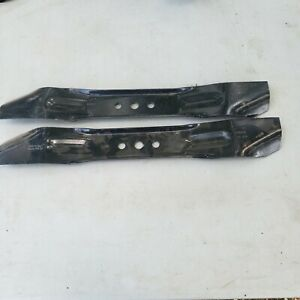 Oregon 2 Pack Of Genuine OEM Replacement Blades # 92-011-2PK