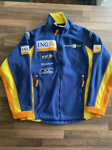 Renault F1 Racing ING Fleece Jacket Mens XS