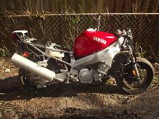 97 to 03 yamaha yzf 1000 thunderace rear tail light  bracket & fairing piece