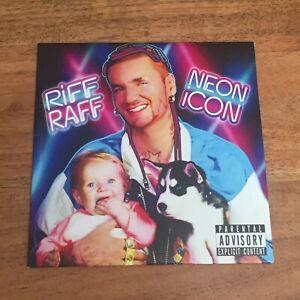 Riff Raff Neon Icon CD Promo
