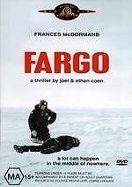 Fargo special edition NEW DVD Frances McDormand Steve Buscemi Region 4 Australia