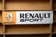 RENAULT Sport Banner in PVC per garage/officina, Megane 256, CLIO 200 Turbo, ecc.