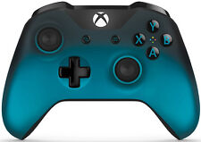 Genuine Microsoft Xbox One Bluetooth Controller Ocean Shadow Special Edition VG
